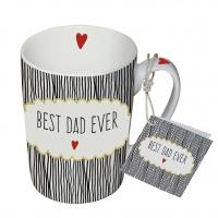 Porzellan-Tasse - Best Dad