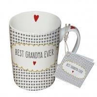 Porzellan-Tasse - Best Grandma