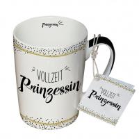 Porzellan-Tasse - Vollzeit Prinzessin