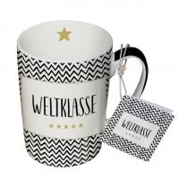 Porzellan-Tasse - Weltklasse