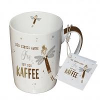 Porzellan-Tasse - Kaffee-Gebühr