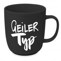 Porzellan-Tasse - Geiler Typ mug 2.0 D@H