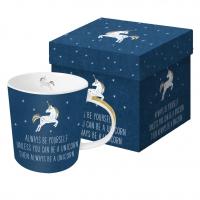 Porzellan-Henkelbecher - Always Unicorn
