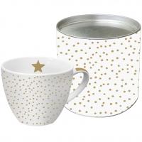 +*)Porzellan-Tasse The Star Money