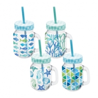 Party Tumbler - Aquarell Strand
