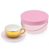 Reflecting Tasse - Gift Box Ginza rosé real gold