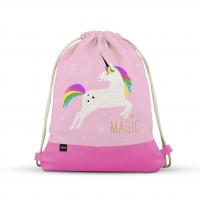 City Bag - City Bag with Leatherette Pink Unicorn