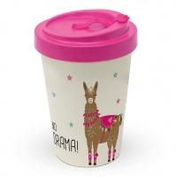 Bamboo mug To-Go - Drama Llama