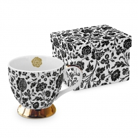 Classic Tasse - George V. black real gold
