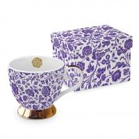 Klassische Tasse - Classic GB George V. violett echtes Gold