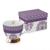 Klassische Tasse - Classic GB Madaket Madaket violett echtes Gold