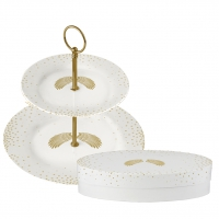 Etagere klein - Holy Wings real gold
