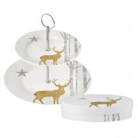 Etagere klein - Mystic Deer real gold