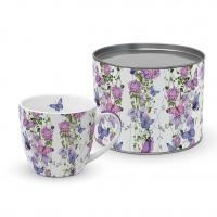 Porzellan-Tasse - Schmetterlingsspritzer