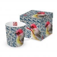 Porzellan-Henkelbecher - Jolie Oiseau