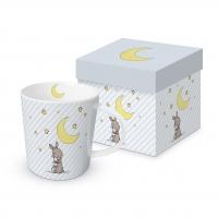 Porzellan-Henkelbecher - Trend Mug Good Night Louise
