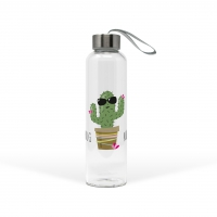 Glasflasche - Hug Me Cactus
