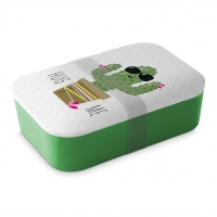 Bamboo Lunchbox - Hug Me Cactus