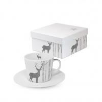 Espresso Tassen - Mystic Deer real silver