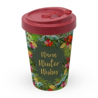 Bamboo mug To-Go - Winter Wishes