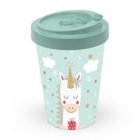 Bamboo mug To-Go - Dreaming Unicorn