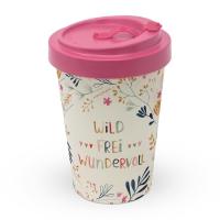 Bamboo mug To-Go - Wild, Frei, Wundervoll