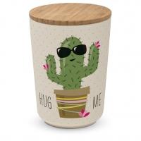 Bambus Storage - Storage Jar large Bamboo Hug Me Cactus