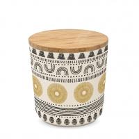 Bambus Storage - Storage Jar small Bamboo Ethno Style