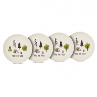Bambus Teller - Plates Into the wild Set of 4