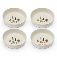 Bambus Schalen - Bowls Into the wild Set of 4