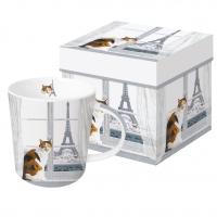 Porzellan-Henkelbecher - Madeleine à Paris