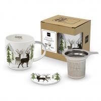 Tee-Tassen - Adventure Deer white T-CB