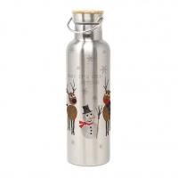 Edelstahl Trinkflasche - Cold Outside Steel Bottle 0,75