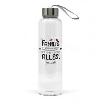 Glasflasche - Familie Bottle