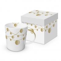 Porzellan-Henkelbecher - Sopran Real Gold Trend GB