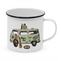 Metal Cup - Freiheit Happy Metal Mug
