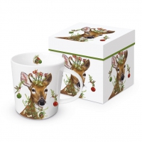 Porzellan-Henkelbecher - Christmas Princess Trend GB