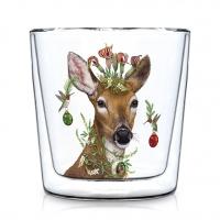 Doppelwand Glas 0,3 L - Christmas Princess Trendglas DW