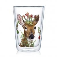 Doppelwand Glas 0,4 L - Christmas Princess Latte MacchiatoDW