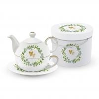 Tea 4 One - Two Hearts Tea4one Set GB
