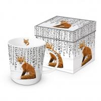 Porzellan-Henkelbecher - Wilderness Fox Trend GB