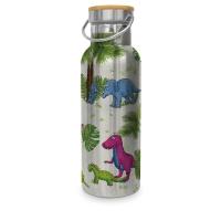 Edelstahl Trinkflasche - Dinos