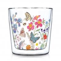 Doppelwand Glas 0,3 L - Nature Romance Trendglas