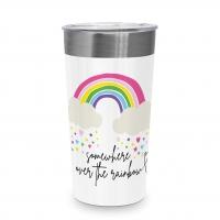 Edelstahl Travel Mug - Rainbow Steel Travel Mug