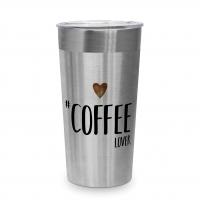 Edelstahl Travel Mug - Coffee Lover Steel Travel Mug