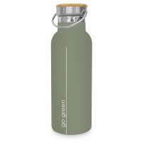 Edelstahl Trinkflasche - Pure Go Green