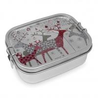 Edelstahl Brotdose - Scandic Christmas Steel Lunch Box
