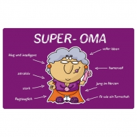 Frühstücks-Brettchen - Super Oma