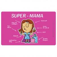 Frühstücks-Brettchen - Super-Mama