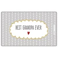 Frühstücks-Brettchen - Tablett Bester Opa